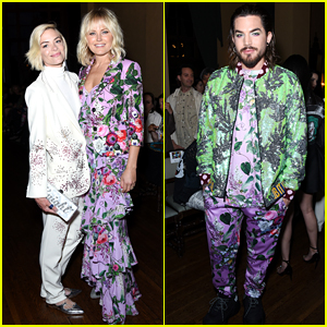 Malin Akerman, Jaime King & Adam Lambert Attend Libertine Fashion Show