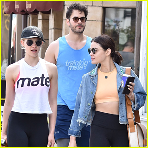 Lucy Hale Reunites with Jayson Blair for a Training Mate Workout