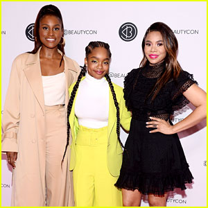 Marsai Martin, Issa Rae & Regina Hall Talk 'Little' at BeautyCon New York