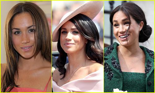 Meghan Markle's Hair Style Evolution Over the Years!