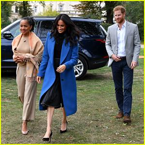 Meghan Markle's Mom Doria Arrives in London Ahead of Royal Birth!
