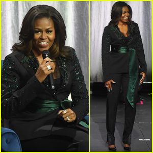 Michelle Obama Promotes 'Becoming' Memoir in Norway