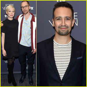 Michelle Williams, Sam Rockwell, & Lin-Manuel Miranda Step Out for 'Fosse/Verdon' Screening