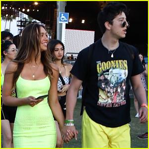 DWTS' Milo Manheim & Alexis Ren Hold Hands at Coachella