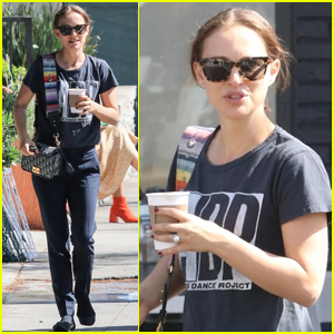 Natalie Portman Steps Out for Coffee After Attending 'Avengers: Endgame' Premiere