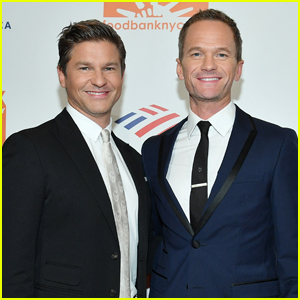 Neil Patrick Harris & David Burtka Couple Up at Food Bank for NYC Can-Do Awards