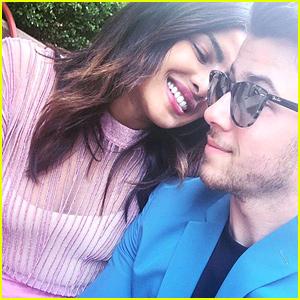 Nick Jonas & Priyanka Chopra Cuddle Up in Sweet Easter Selfie