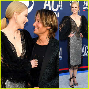 Nicole Kidman Supports Keith Urban at ACM Awards 2019!