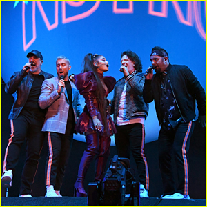NSYNC Join Ariana Grande On Stage for Coachella Set!
