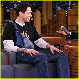 Pete Davidson Reveals On 'Fallon' That He's 'Kinda' Living With His Mom - Watch Here!