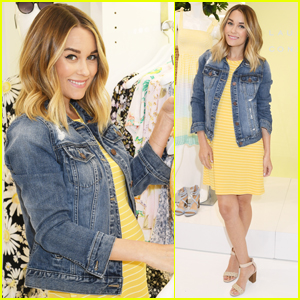 Pregnant Lauren Conrad Debuts Spring Fashion Collection!