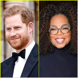 Prince Harry & Oprah Winfrey Team Up for Mental Health Series on Apple TV