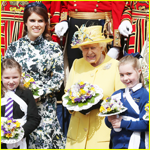 Queen Elizabeth Joined By Princess Eugenie for Easter Coin Ceremony!