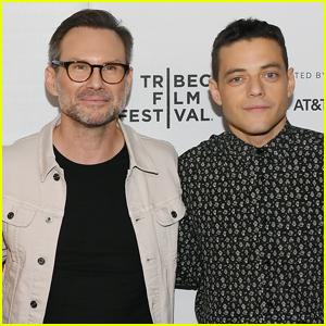 Rami Malek & Christian Slater Promote 'Mr. Robot' Final Season at Tribeca Film Festival 2019