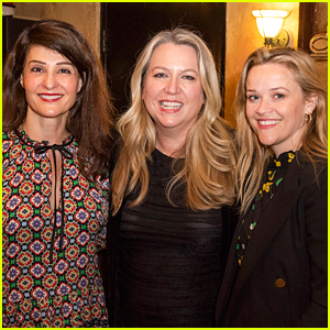 Reese Witherspoon Supports Her Friends at 'Tiny Beautiful Things' Opening!