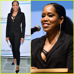 Regina King Suits Up for I Have a Dream Foundation Dinner
