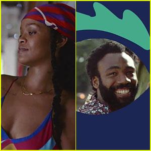 Rihanna & Donald Glover Star in 'Guava Island' Teaser - Watch Now!