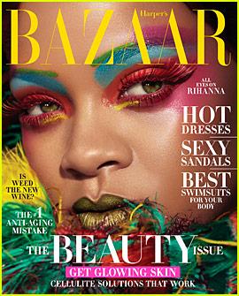 Rihanna Models Chic Looks for 'Harper's Bazaar' Cover Story!
