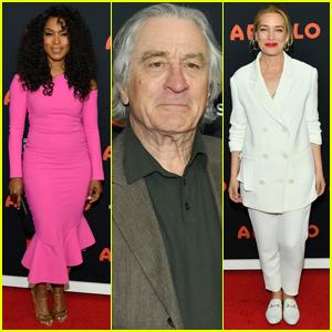 Robert De Niro Joins Angela Bassett & Piper Perabo at 'The Apollo' Premiere at TFF 2019