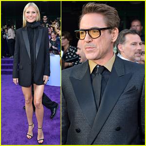 Robert Downey Jr. & Gwyneth Paltrow Bring 'Iron Man' to 'Avengers: Endgame' Premiere