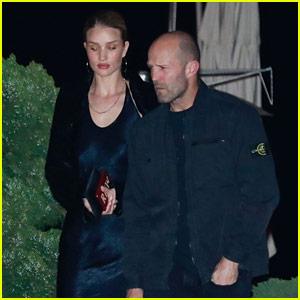 Rosie Huntington-Whiteley & Jason Statham Do Date Night at Nobu