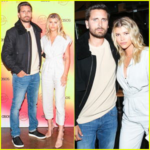 Scott Disick & Sofia Richie Couple Up at Asos   Life Is Beautiful Launch Party!