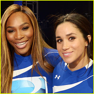 Serena Williams Opens Up About Planing Meghan Markle's Baby Shower