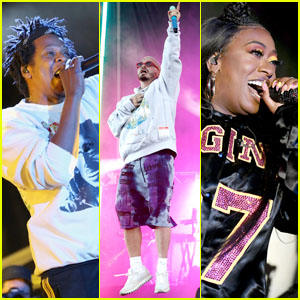 Jay-Z, J Balvin, Missy Elliott & More Hit the Stage at Pharrell Williams' Something In The Water Music Festival
