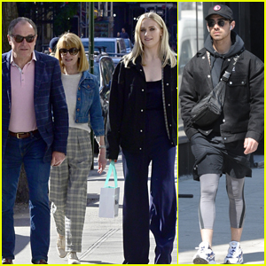 Sophie Turner Gets Lunch with Joe Jonas Before Visiting MoMA with Her Parents