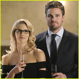 Stephen Amell Posts Touching Tribute to Emily Bett Rickards Amid 'Arrow' Exit