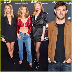 Suki Waterhouse, Toni Garrn & Alex Pettyfer Party at Montblanc Travel Campaign Launch!