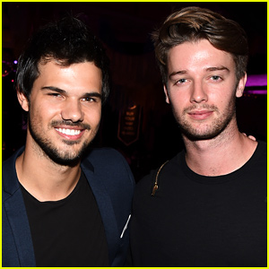 Taylor Lautner & Patrick Schwarzenegger Reunite at Stagecoach!