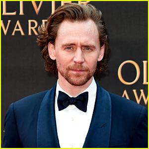 Tom Hiddleston Looks Handsome at Olivier Awards 2019