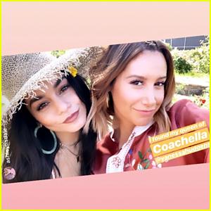 Vanessa Hudgens & Ashley Tisdale Did Coachella Together!