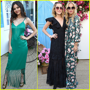Kiernan Shipka & Victoria Justice Start Their Coachella Weekend With Rachel Zoe!