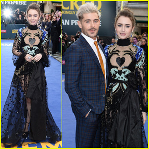 Zac Efron & Lily Collins Premiere 'Extremely Wicked, Shockingly Evil and Vile' in London