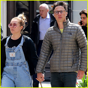 Zach Braff & Florence Pugh Spotted Holding Hands - New Couple Alert?!