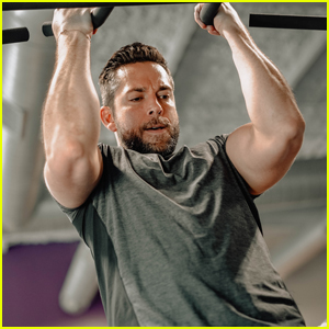 Zachary Levi Bares Massive Biceps While Promoting His Flow Supplements Company!
