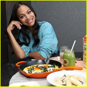 Zoe Saldana Shares Some of Her Favorite Signature Dishes!