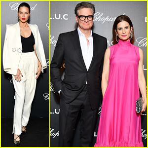 Adriana Lima, Colin Firth & More Step Out for Chopard's Gentleman's Evening at Cannes!