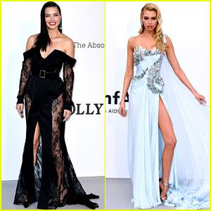 Adriana Lima & More 'VS' Angels Attend amFAR Cannes Gala!