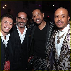 Will Smith & Mena Massoud Recall Their First Meeting & It's Awkward & Hilarious All At Once