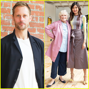 Alexander Skarsgard, Glenn Close & Gemma Chan Support Dia Art Foundation's Spring Benefit!