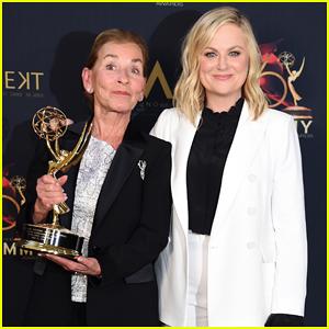 Amy Poehler Presents Judge Judy With Her Daytime Emmys Lifetime Achievement Award!