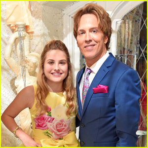 Anna Nicole Smith's Daughter Dannielynn, 12, Stuns at Kentucky Derby Party with Dad Larry Birkhead!