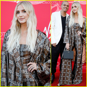 Ashlee Simpson & Evan Ross Couple Up at Virgin Hotels Soiree