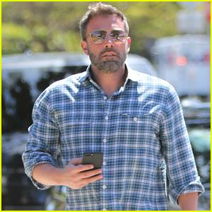 Ben Affleck Looks Handsome Running Errands in Brentwood