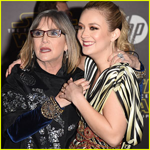 Billie Lourd Will Interact With Late Mother Carrie Fisher On-Screen in Upcoming 'Star Wars' Movie