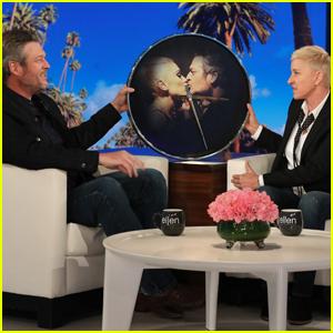 Blake Shelton Gets Pre-Engagement Gift from Ellen DeGeneres - Watch Now!