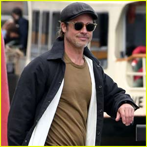 Brad Pitt Visits Venice During His Downtime!